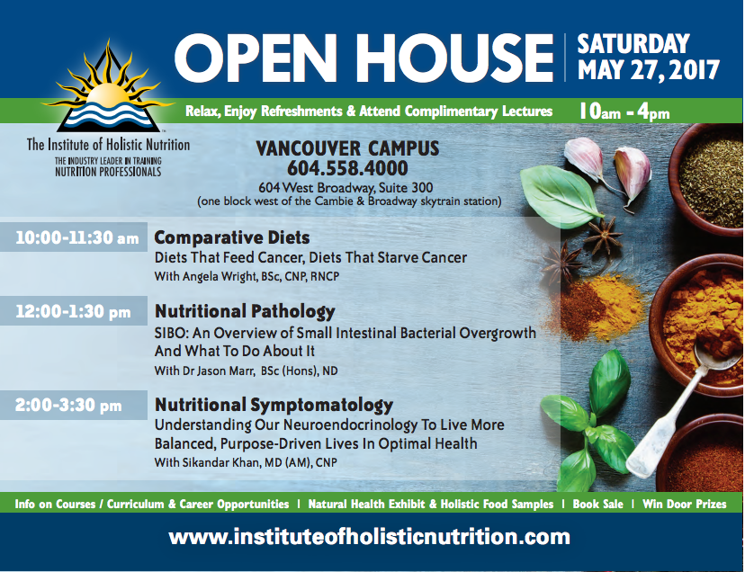 Open House flyer - Vancouver - May 27th , 2017